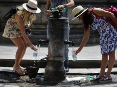 Hot weather returns to Rome