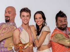 Aladdin musical in Rome