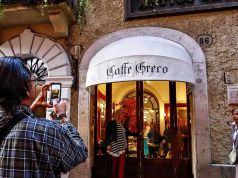 Eviction day arrives for Rome's Caffè Greco