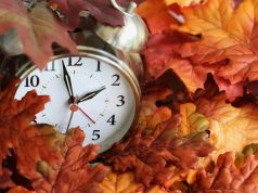 Clocks go back on 27 October