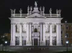 Rome lights up Basilica of St John Lateran