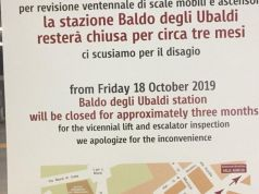 Rome metro station closes for three months to fix escalators and lifts