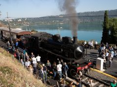 Steam train from Rome to Castel Gandolfo