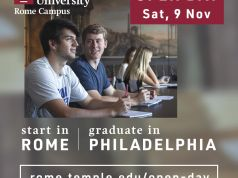 Open Day at Temple Univeristy