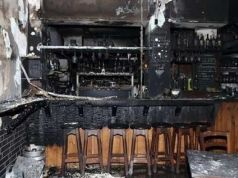 Rome bar burnt down in fourth Centocelle fire