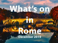 What to do in Rome in December 2019
