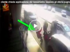 Taxi driver punches customer at Rome's Fiumicino airport