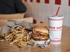 Five Guys opens in Rome