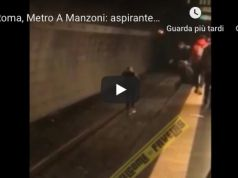 Rome metro: suicide attempt, saved by fellow passengers