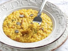 Rome recipe: Pumpkin cream risotto with breadcrumbs