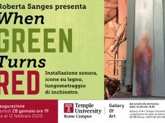 Roberta Sanges exhibition at Temple University Rome