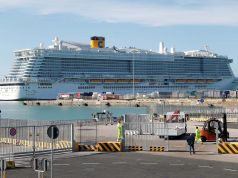 Italy: cruise ship in lockdown over Coronavirus fears