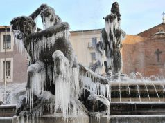 Rome: ice cold Befana on the way