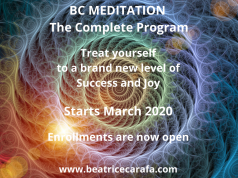 12-week online Meditation Program