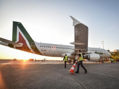 Coronavirus: Alitalia plane grounded in Mauritius