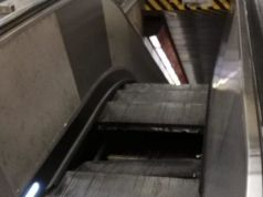 Rome metro: panic as escalator gives way