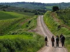 The Via Francigena, an ancient pilgrim route