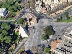 Exclusive photos recently taken from a helicopter over Rome