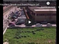 Prisoners break-out from Foggia jail
