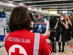 Coronavirus: Rome airports screen departing passengers