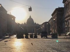 Timelapse video of empty Rome in lockdown