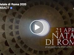Sun lights up Pantheon door on Rome's birthday in stunning timelapse video