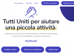 TuttiUniti, supporting small businesses and people in need