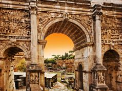 Rome to restore Arch of Septimius Severus