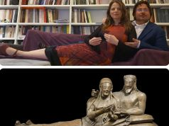 Romans imitate Etruscan art on social media