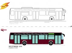 Rome bus colouring game during lockdown