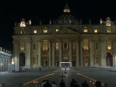 Vatican: Via Crucis in empty St Peter's Square