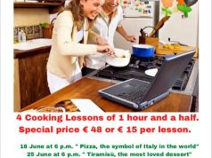 Learn to cook and speak Italian in one go (online)