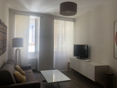 Bright remodeled, 1-bedroom fully furnished flat