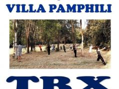 Group Training In Villa Pamphili