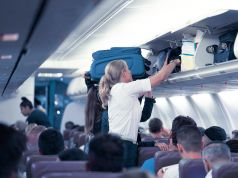 Cabin luggage ban on flights to and from Italy
