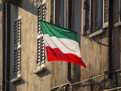 The history of the Italian national flag