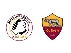 Rome: AS Roma footballers wear Black Lives Matter patch