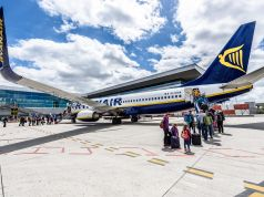 Ryanair questions Italian ban on hand luggage