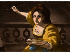 Google pays tribute to Artemisia Gentileschi