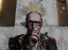 Rome: Morricone street art in Trastevere