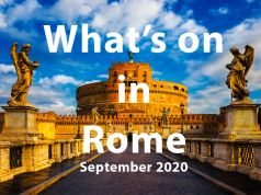 What to do in Rome in September 2020