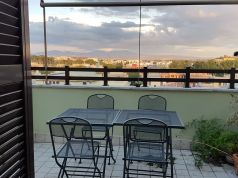 Top-floor furnished three-bedroom apartment with terrace Appio-Latino