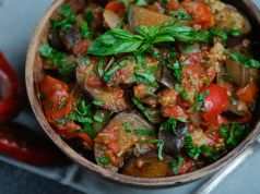 Caponata: Mediterranean medley of summer vegetables