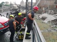 Rome: Tourist rescued after falling into Forum of Augustus