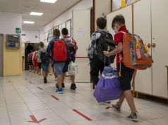 Italy: School bells ring for first time in six months