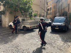 Unexploded world war two bomb dug up in central Rome