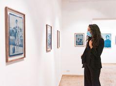 Rome exhibition by Anna Di Paola: Misero Blu