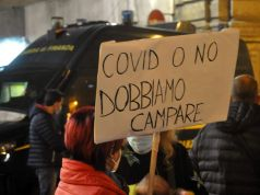 Italy's protests continue as new covid-19 cases near 25,000