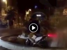Rome mayor slams motorbike stunt in Coppedè fountain but video was years old