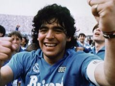 Italy pays tribute to football legend Diego Maradona